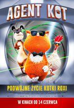 Plakat filmu Agent Kot